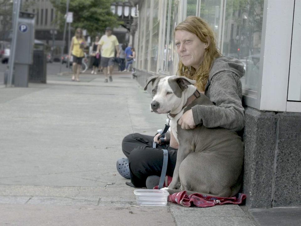 Inclusion = Lifesaving: Women with dog