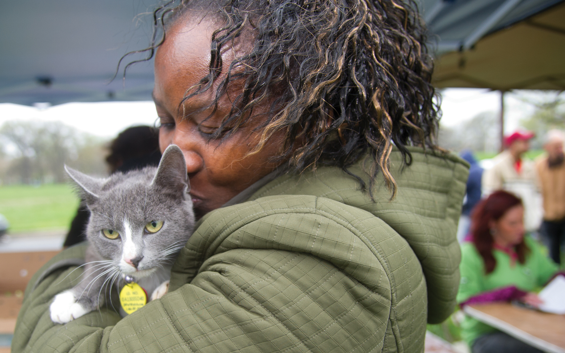 Inclusion = Lifesaving: Women with cat